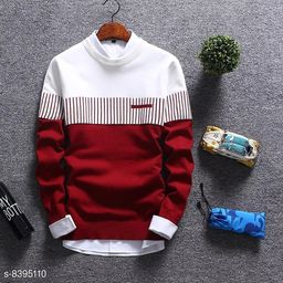STATUS MANTRA Men's Cotton Full Sleeve Regular Fit T-Shirt   SWEATSHIRT FOR MENS