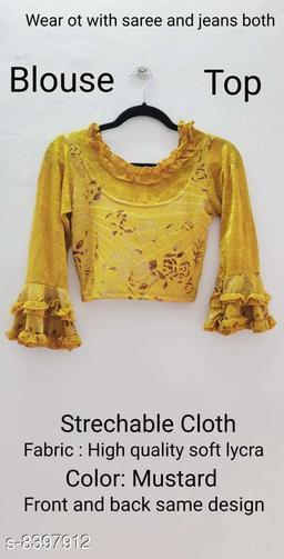 Ambience Mart Strechable Partywear Blouse cum Top