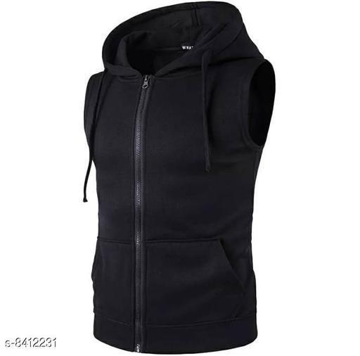 Sleeveless Hoodies for Men  Stylish Mens Winter Wear
