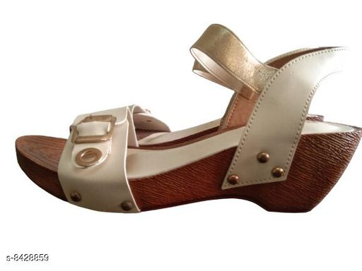 Others Women stylish sandals  *Material* PU  *Sizes*  IND-3  *Sizes Available* IND-3 *    Catalog Name: Modern Graceful Women Heels & Sandals CatalogID_1418101 C75-SC1061 Code: 197-8428859-