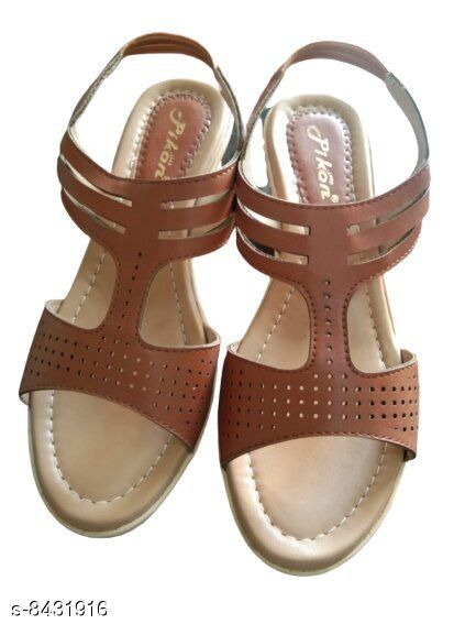 Others Stylish sandals for women  *Material* PU  *Sizes*  IND-4  *Sizes Available* IND-4 *    Catalog Name: Latest Graceful Women Heels & Sandals CatalogID_1418837 C75-SC1061 Code: 267-8431916-