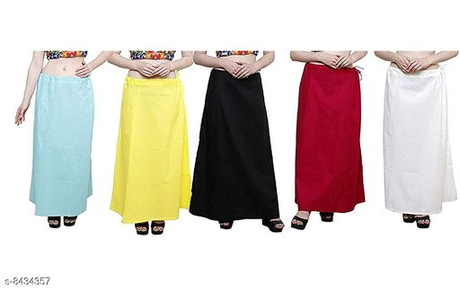 WOMENS PURE COTTON PETTICOAT PACK OF 15