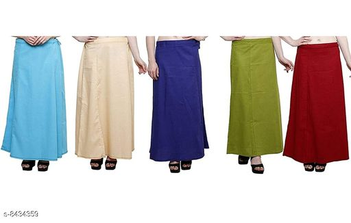 WOMENS PURE COTTON PETTICOAT PACK OF 20