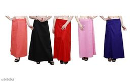 WOMENS PURE COTTON PETTICOAT PACK OF 13