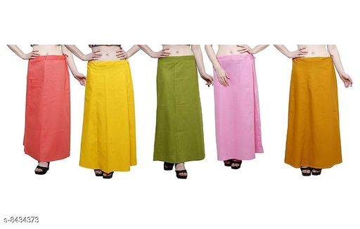 WOMENS PURE COTTON PETTICOAT PACK OF 10