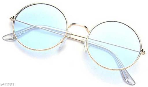 Trendy Men's White Sunglasses