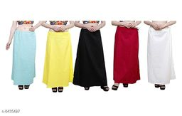 WOMENS PURE COTTON PETTICOAT PACK OF 5