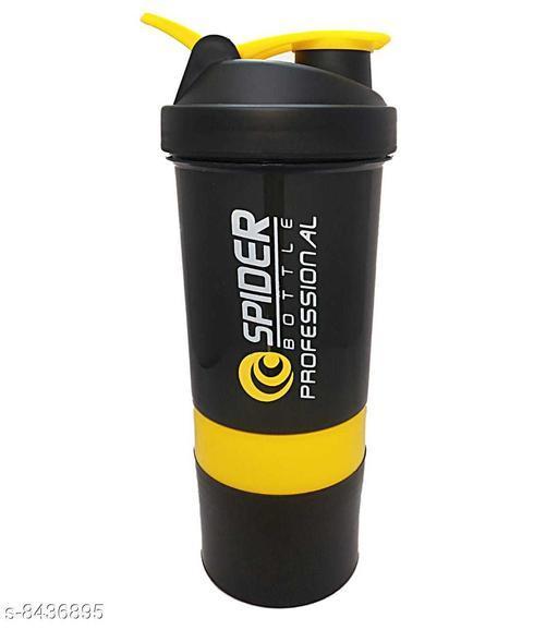 MobFest® Spider Shaker Bottle- 3in 1 Protein,Milk etc Shaker, 500ml (Multicolor)