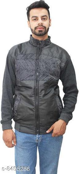 Stylish Mens Woollen Winter Jacket