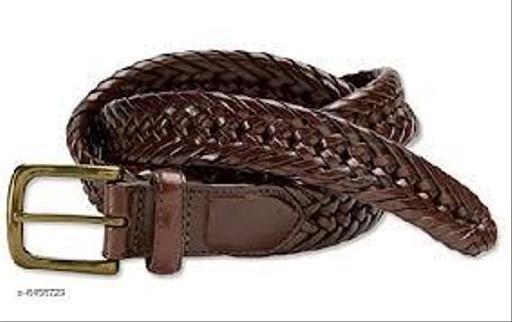 Samm & Moody Unisex Leatherette Weaving Belts