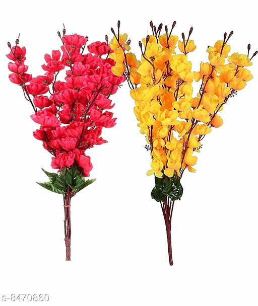 Artificial Flowers and Plants ARtificial Flowers   *Material* Plastic  *Pack* Pack of 2  *Sizes Available* Free Size *    Catalog Name: Fancy Plants CatalogID_1428201 C127-SC1610 Code: 883-8470860-