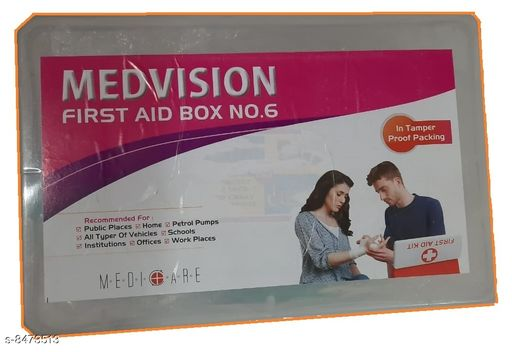 First Aid kits First Aid First Aid  *Sizes Available* Free Size *    Catalog Name: Medvision CatalogID_1428764 C89-SC1756 Code: 2151-8473513-0861