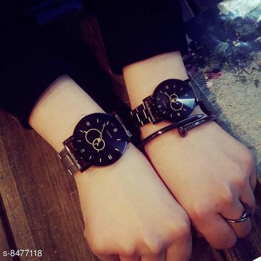 Festive antique same design couple watch