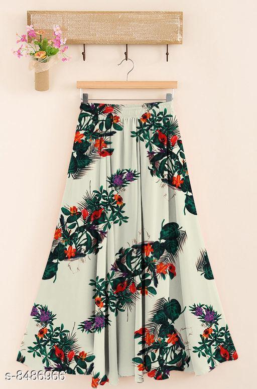 Stylish Polystar Rayon Skirt