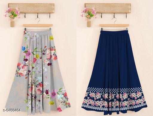 Printed Women's Skirt