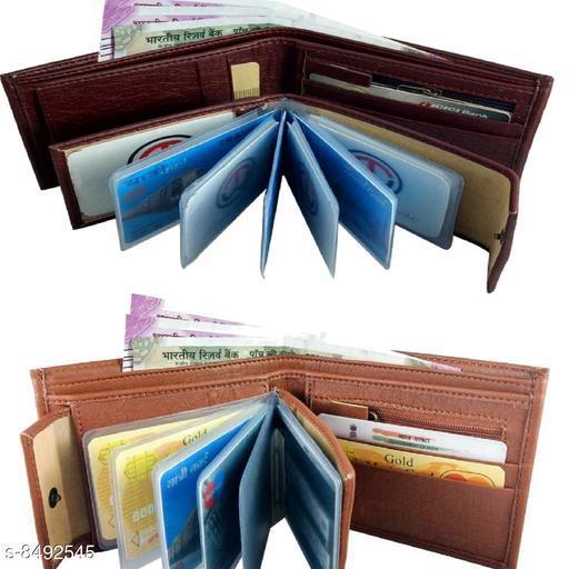 Stylish Men's Combo Multicolor Wallet