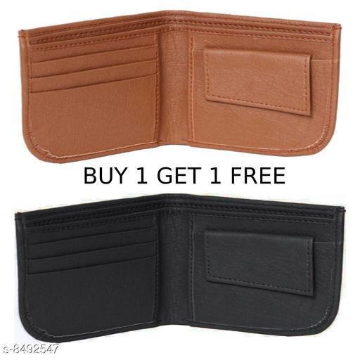 Stylish Men's Multicolor Leather Wallet