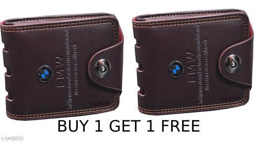 Trendy Men's Combo Multicolor Leather Wallet
