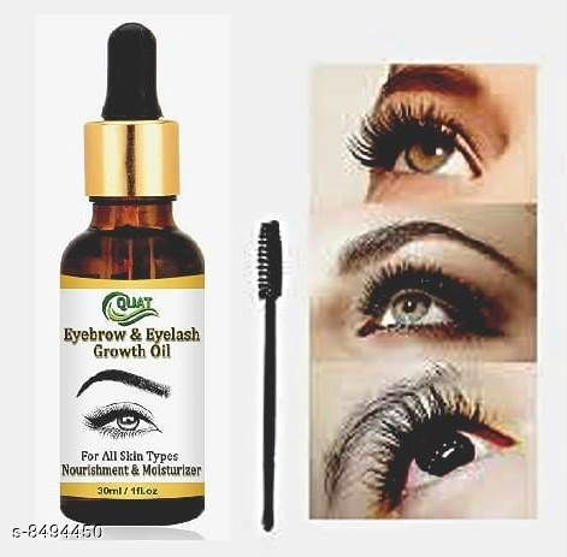 quat eyebrow & eyelash growth oil