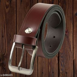 Winsome Deal Trendy Casual Brown, Pin Buckle Belt for Men's