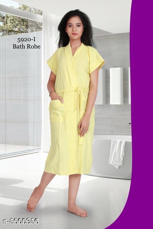 Stylish Cotton Bathrobes