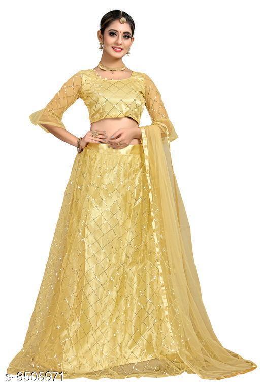 Lehengas Women Lehenga Women Lehenga  *Sizes Available* Un Stitched, Free Size, Semi Stitched *    Catalog Name: Women Lehenga CatalogID_1436395 C74-SC1005 Code: 358-8505971-