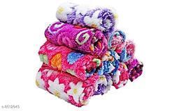 Kid's and Women's Cotton Soft Rabbit Handkerchief (Multicolour, 25 x 25 Cm) - Pack of 12