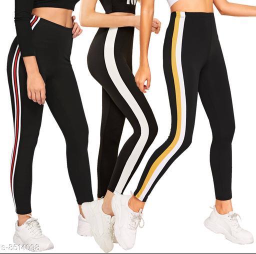Women's Cotton Rib Jegging/Tights/leggings/ jogger pants/combo pack of 3