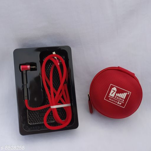 3.1 A Fast Charge & Data Satnd cable 6 time Strong & Durable  I Micro USB I red Cover (Case)