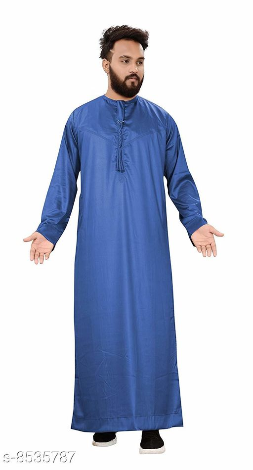 Kurtas Trendy Art Silk Men's Kurta  *Fabric* Cotton  *Combo of* Single  *Sizes*  XXL  *Sizes Available* XXL *    Catalog Name: Fancy Men Kurtas CatalogID_1443445 C66-SC1200 Code: 048-8535787-