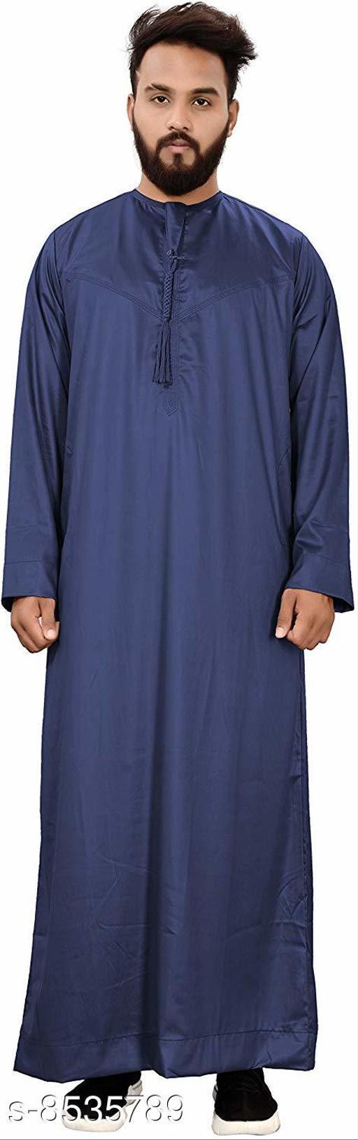 Kurtas Trendy Art Silk Men's Kurta  *Fabric* Cotton  *Combo of* Single  *Sizes*  L  *Sizes Available* L *    Catalog Name: Fancy Men Kurtas CatalogID_1443445 C66-SC1200 Code: 048-8535789-