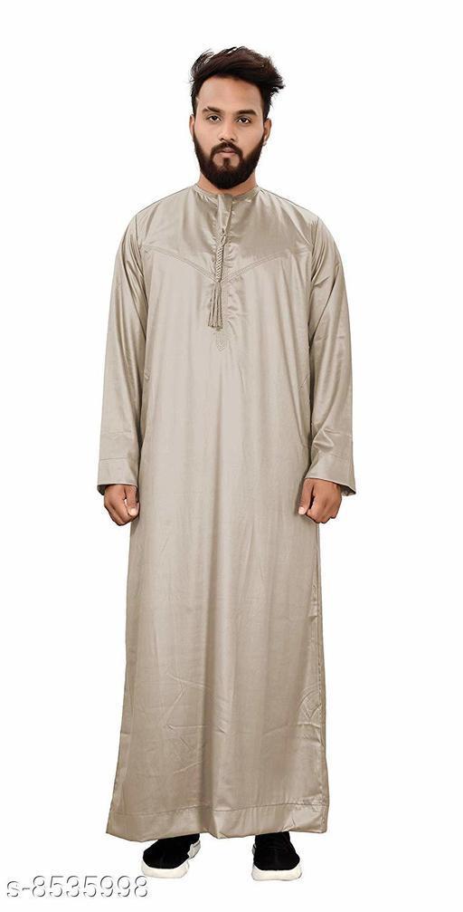 Kurta Sets Trendy Jubba Men's Ethnic Wear  *Fabric* Cotton  *Combo of* Single  *Sizes*  XL, XXL  *Sizes Available* XL, XXL *    Catalog Name: Unique Men Kurtas CatalogID_1443505 C66-SC1201 Code: 048-8535998-