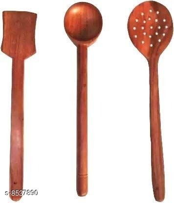 A S Handicrafts Cooking Spoons   Baking Spoons   Ladle   Spatula   Wood Ladle   Wood Spatula   Wood Spoons   Wooden Spatula   Wooden Ladle Wooden Spatula