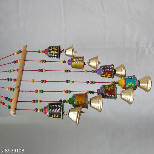 Wind Chimes Traditional Wind Chime Bell   *Material* Handicraft  *Pack* Pack of 1  *Sizes Available* Free Size *    Catalog Name: Colorful Chimes CatalogID_1444157 C127-SC1619 Code: 842-8539108-