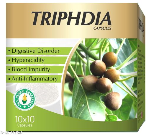 Weight Management TRIPHEDIA CAPSULES TRIPHEDIA CAPSULES  *Sizes Available* Free Size *    Catalog Name: Ayushfe CatalogID_1445550 C126-SC1572 Code: 9801-8544782-0011