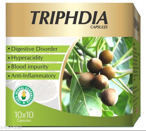 Weight Management TRIPHEDIA CAPSULES TRIPHEDIA CAPSULES  *Sizes Available* Free Size *    Catalog Name: Ayushfe CatalogID_1445589 C126-SC1572 Code: 9801-8544950-0011