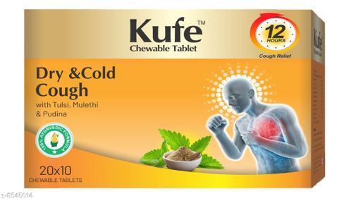 Weight Management KUFE CHEWABLE TABLET KUFE CHEWABLE TABLET  *Sizes Available* Free Size *    Catalog Name: Ayushfe CatalogID_1445601 C126-SC1572 Code: 9871-8545014-0081