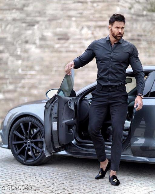 Top & Bottom Sets Trendy Men Clothing Set Trendy Men Clothing Set  *Shirt Fabric * Black berry (2.40 mtr)  *Pants Fabric * Cotton touch ( 1.25 mtr)  *Colour* Multi Colour  *Multipack* 1  *Sizes Available* Free Size *    Catalog Name: Trendy Men Clothing Set CatalogID_1445757 C70-SC1419 Code: 987-8545649-