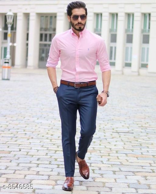 Top & Bottom Sets Trendy Men Clothing Set Trendy Men Clothing Set  *Shirt Fabric * Black berry (2.40 mtr)  *Pants Fabric * Cotton touch ( 1.25 mtr)  *Colour* Multi Colour  *Multipack* 1  *Sizes Available* Free Size *    Catalog Name: Trendy Men Clothing Set CatalogID_1446036 C70-SC1419 Code: 987-8546685-