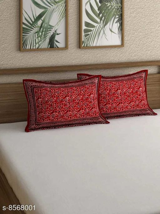 Indian Traditional Print, Cotton Pillow covers (28*18 In)