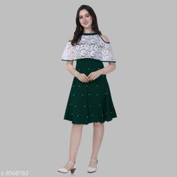 Trendy Designer western Dress