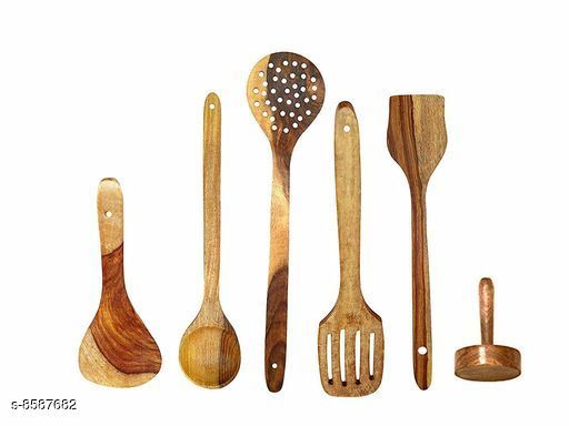 Happie Shopping Handmade Wooden Cooking Spoons