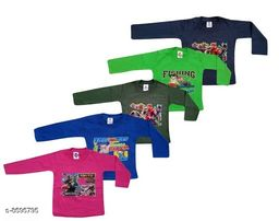 Elegant Kid's T-Shirts (Pack Of 5) (0-2 Year)