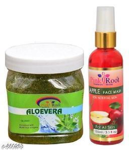 Aloe Vera Scrub With Apple Face Wash