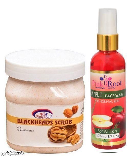 Blackhead Scrub With Apple Face Wash