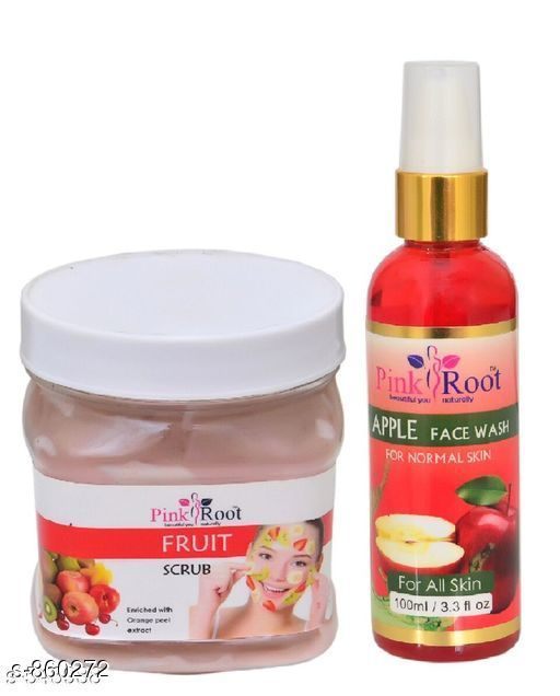 Fruit Scrub With Apple Face Wash