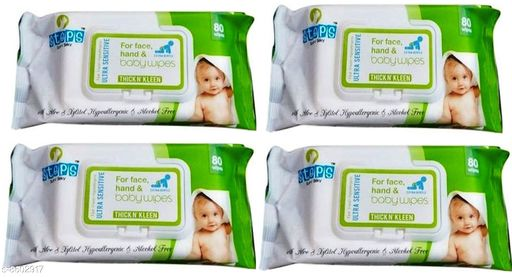Face wipes Steps Baby Wipes 320 Pcs (Pack of 4)  Steps Baby Wipes 320 Pcs (Pack of 4)  *Sizes Available* Free Size *    Catalog Name: STEPS BABY WIPES With ALOE VERA CatalogID_1459570 C89-SC1754 Code: 955-8602917-067