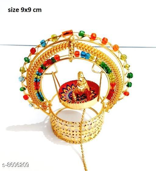 Mini jhula with kanha showpiece