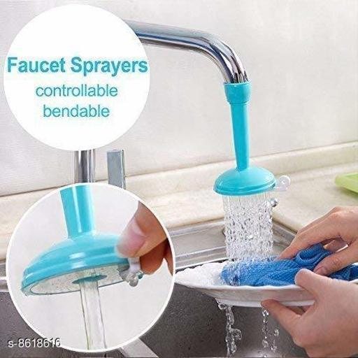 Adjustable Kitchen Splash Shower Faucet Sprinkler Head Nozzle Bathroom Tap Water-Saving Faucet Regulator Shower