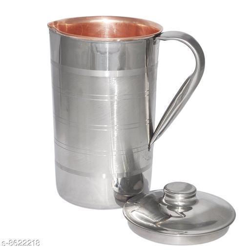 Oxyjal 2.2 L Water STEEL COPPER JUG Jug  (Copper, Steel)